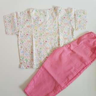 Floral Scrub Suit Set