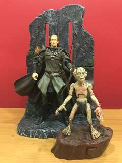 Lord of the Rings Set - Legolas and Gollum