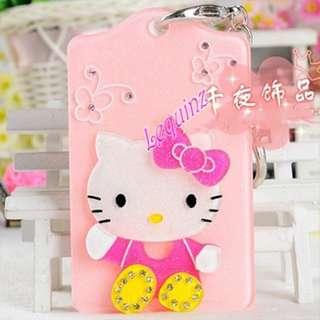 Hello Kitty Hard Acrylic Bus Card Holder