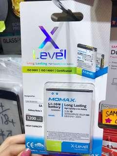 Momax  三星note3 手機電池