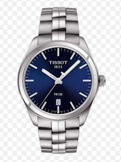 Authentic Tissot PR100 brand new watch