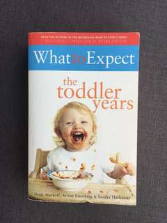 What to expect - the toddler years