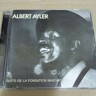 Music CD: Albert Ayler ‎– Nuits De La Fondation Maeght 1970 - Free Jazz