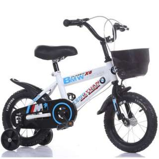Children 14 inch 4 wheel bicycle brand new in stock