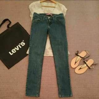 LEVI'S 518 低腰 窄管 牛仔褲 九成新