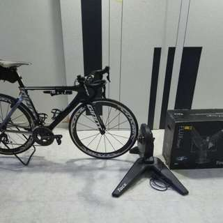 Giant Propel Adv 2 with Tacx Flu Smart Trainer
