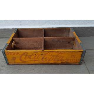 Rare Coca Cola Wooden Crate