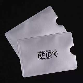 Anti Rfid Blocking Reader Lock Bank Card Holder ID Bank Card Case Rfid Protection Metal Credit Card Holder Aluminium 2018 (2pcs)