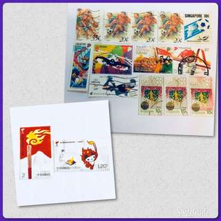 Sports Series stamps