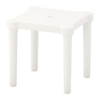 [IKEA] UTTER Children's Stool / in or outdoor / white