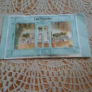 (包平郵) Les Nereides $100 cash coupon