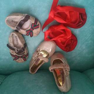 Shoes for Baby bundle 6-9 months