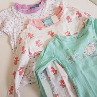 3 for 100 long sleeves set