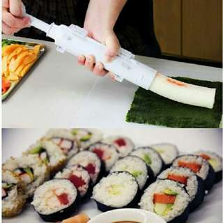 Roller Sushi Roll Mold Making Kit Tools Sushi Bazooka Rice Meat Vegetables DIY Making Kitchen Gadgets
