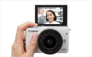 Kredit Canon EOS M10 Kit 15-45mm dp ringan tanpa cc