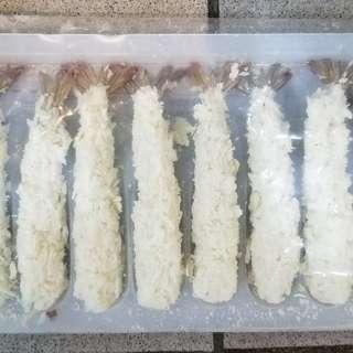 吉列炸蝦10隻
