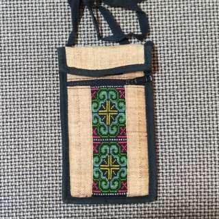原住民手工藝 手機袋