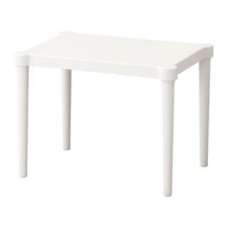[IKEA] UTTER Children's Table / In or Outdoor / White