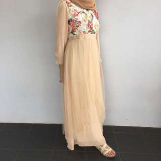 LONGDRESS GAUN PESTA
