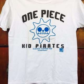 One Piece white shirt for men