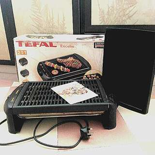 TEFAL EXCELIO2 Electric Barbecue Grill