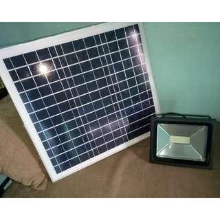 Solar Timer Floodlight 30w