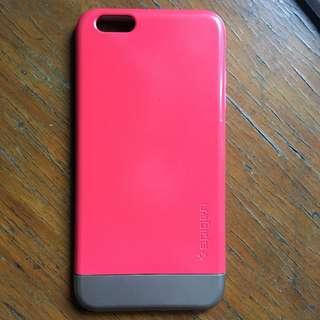 Original Spigen 6s Plus Bright Pink Case