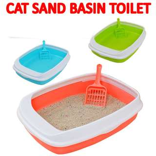 TPE055 Cat Litter Tray Sand Basin Toilet Box v2