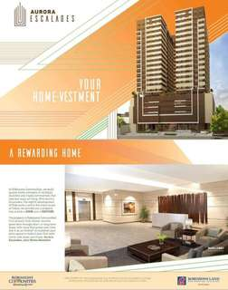 Home Investment at Aurora Escalades pre selling