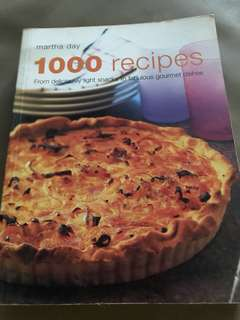 Martha Day's 1000 recipes cookbook