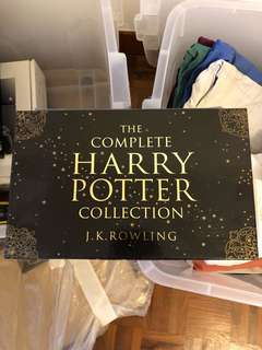 The complete Harry Potter collection (paper back)