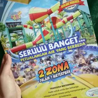 Voucher diskon transera waterpark