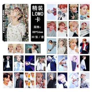 BTS J-Hope Lomo Cards