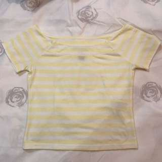 Forever 21 semi off shoulder top SMALL