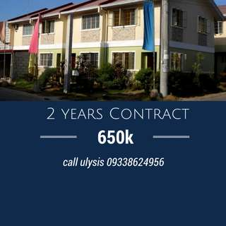 Sangla   Tira 2 years contract  @650k Provision for 3 Bedrooms  1 toilet and Bath