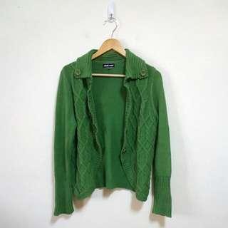 專櫃ohoh-minl 麻花針織外套