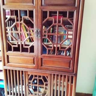 Elm wood vintage cabinet