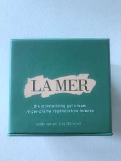 La Mer moisturiser (gel cream)