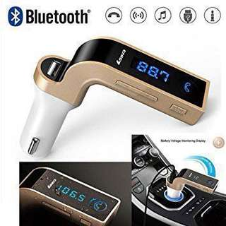 Car G7 Wireless Bluetooth Car Charger