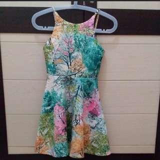 Tree Colourfull Dress