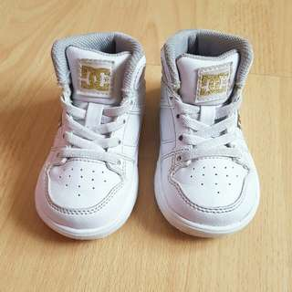 DC highcut White shoes