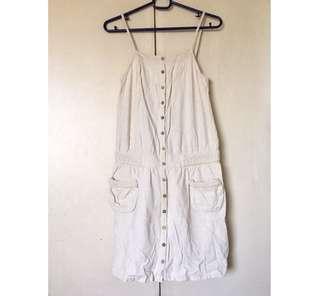 Linen Button Up Dress