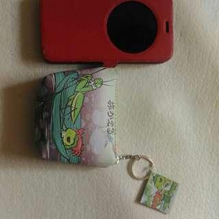 🚚 旅行青蛙 零錢包 隨身包 萬用包