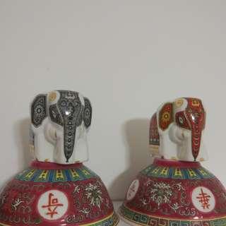大象厨具裝飾不連碗