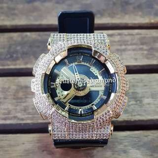 Customise gold baby g/please visit Instagram #gcustomise to view more video of the watch)