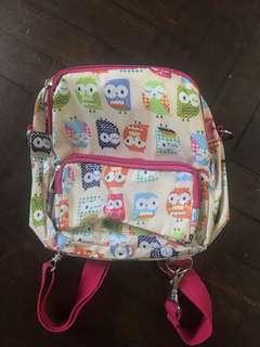 Kids Owl Design Bag