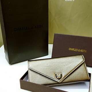 Charles & Keith Purse Gold Color