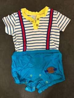 e-child嬰兒連身衣