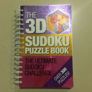 3D Sudoku Puzzle Book