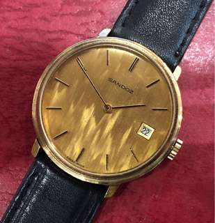 Sandoz Mechanical Vintage Watch